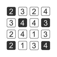 Hitori - Logic Puzzles