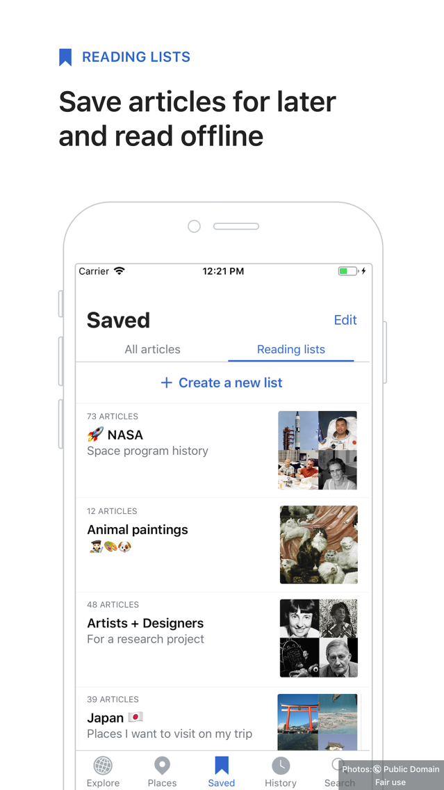 Wikipedia App for iPhone - Free Download Wikipedia for
