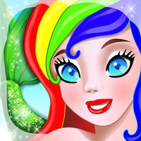 Mermaid Princess Coloring Pages for Girls and Games for Ltttle Kids