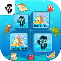 Match Sea Animal Cards Memory