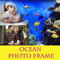 Ocean Photo Frame And Pic Collage