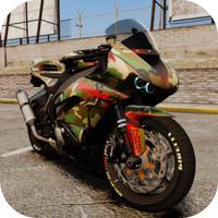Motorcycle Traffic Rider - Motor City