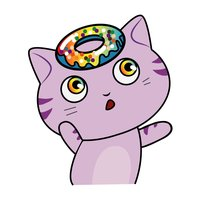 Cute Cats Emoji & Stickers for messages