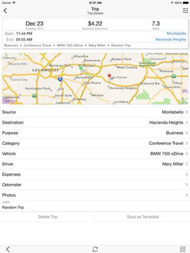 Mile Cloud: mile tracker automatic mileage log for tax