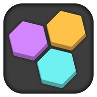 Fit In The Hole - Color Hexagon Block Crush Puzzle