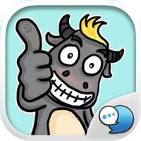 Super Buff Stickers Emoji Keyboard By ChatStick