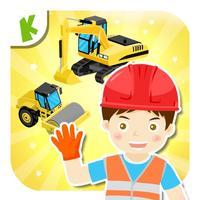 Trucks for children kids - Construction games