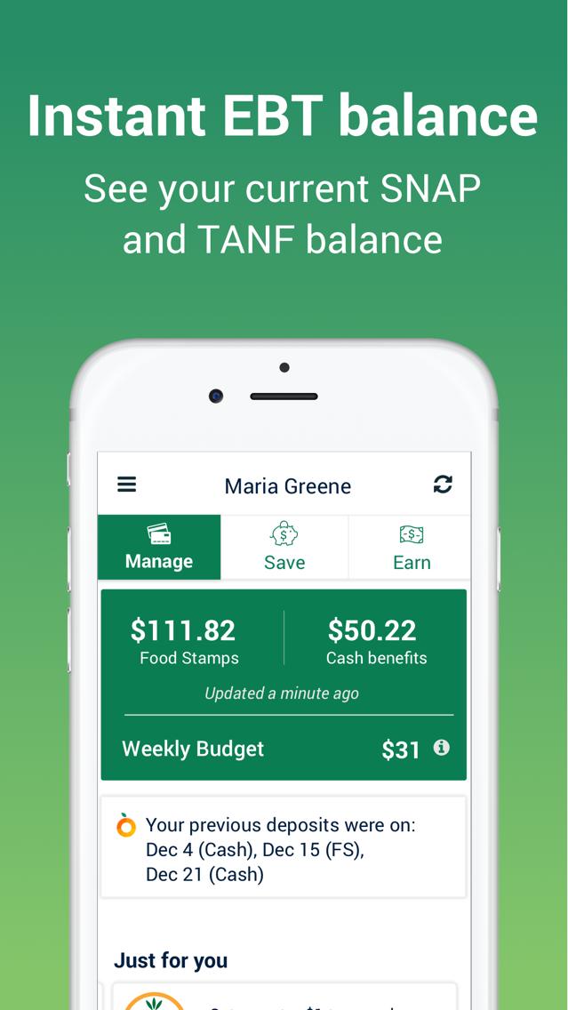 Fresh EBT - Food Stamp Balance App for iPhone - Free Download Fresh