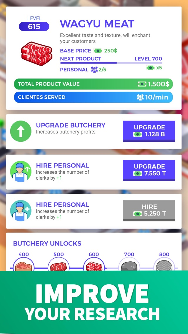 Idle Supermarket Tycoon - Shop App for iPhone - Free