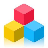 Super Block, the Clashy Colors Tiles