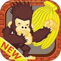 King kong eat banana jungle games for kids