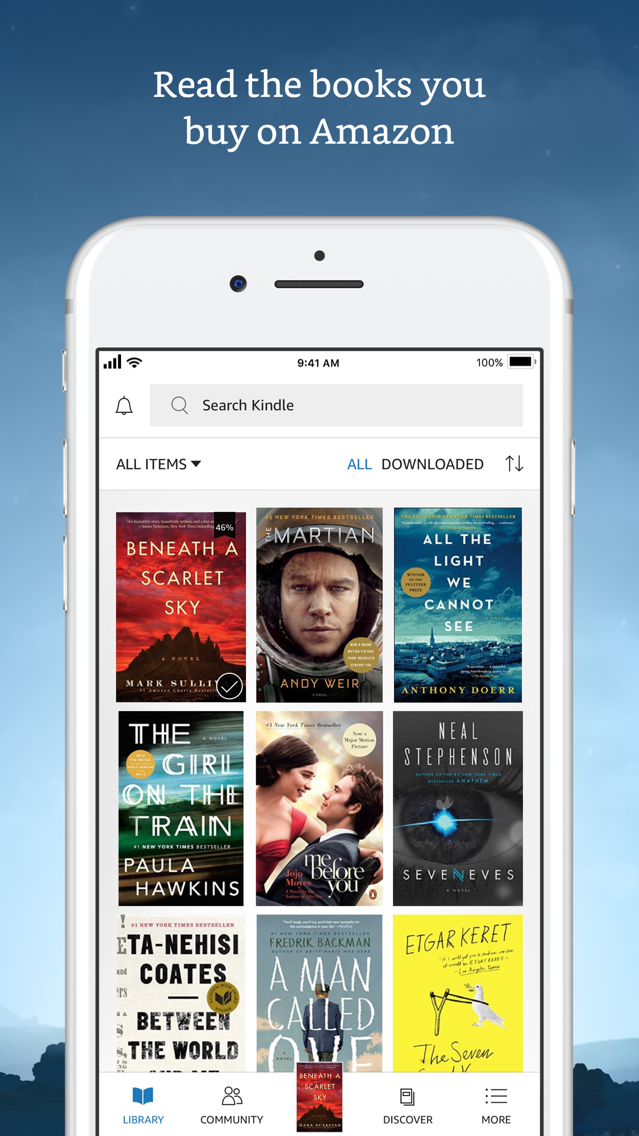 Amazon Kindle App for iPhone - Free Download Amazon Kindle for