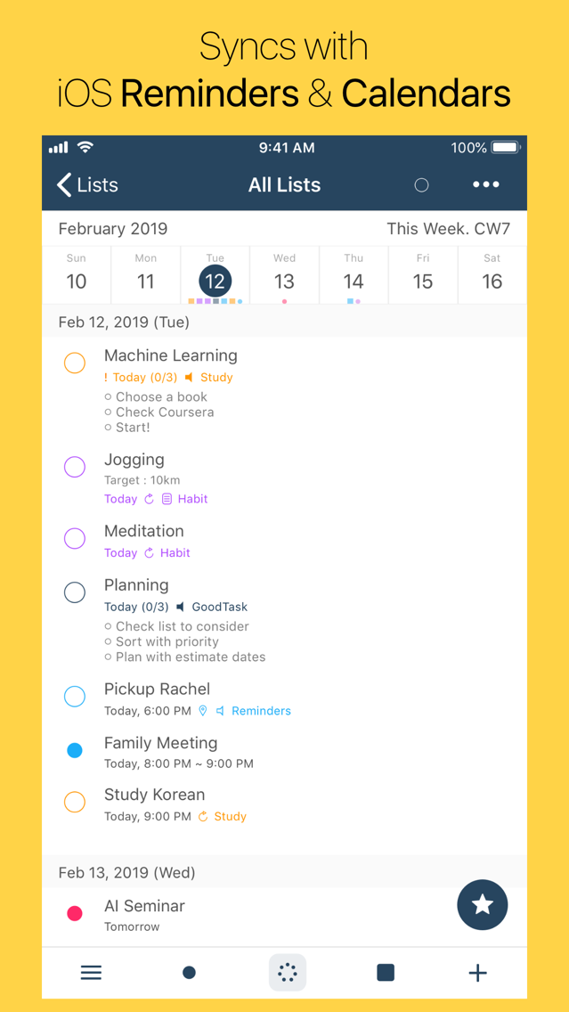 GoodTask - To Do List Manager App for iPhone - Free Download