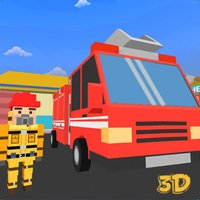 Toon City Fire Fighter Rescue