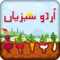 Urdu Qaida Vegetable Learning Urdu - Kids Educational Book