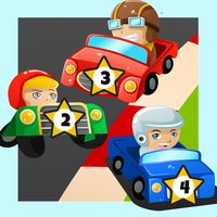 Crazy Car-s Race on the Auto-Bahn for Little Kid-s in a Game