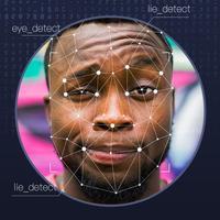 Lie Detector Face detection simulator. Real prank
