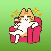 Miley The Lovely Funny Cat Sticker