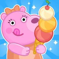 Panny bear ice cream vacation