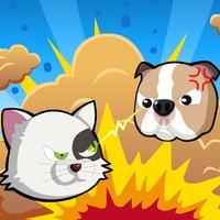 Cat Vs Dog - Cat fight to dog