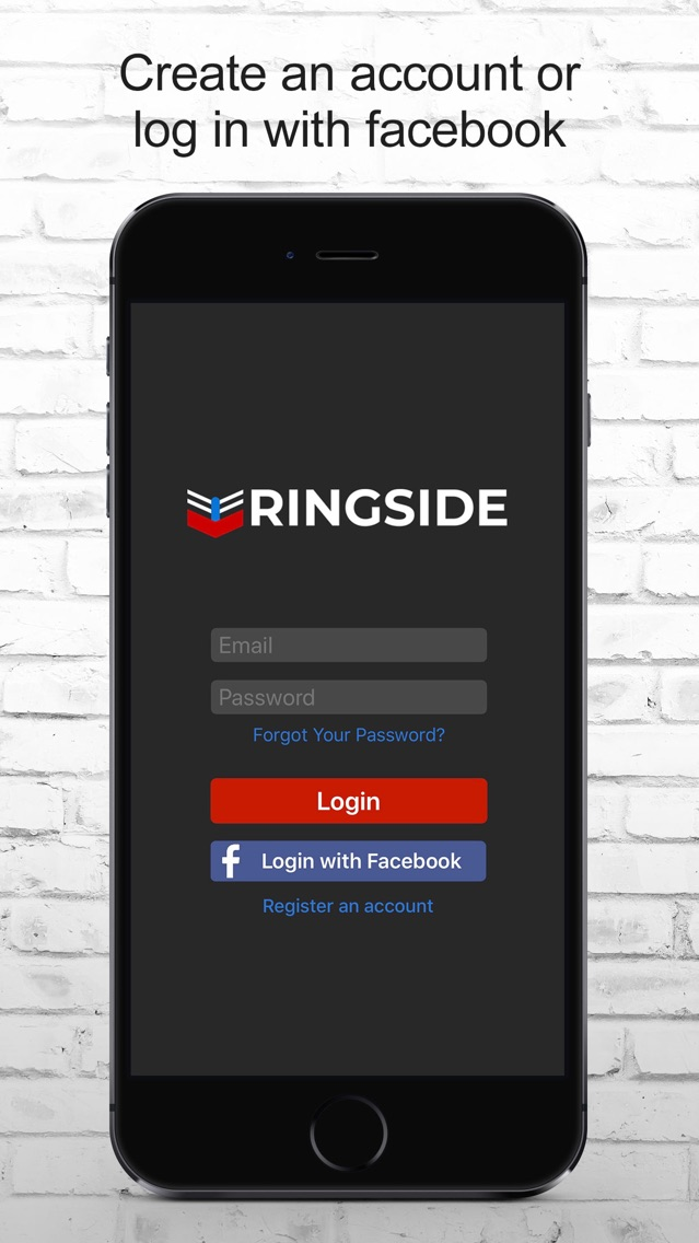 Ring-Side App for iPhone - Free Download Ring-Side for iPad