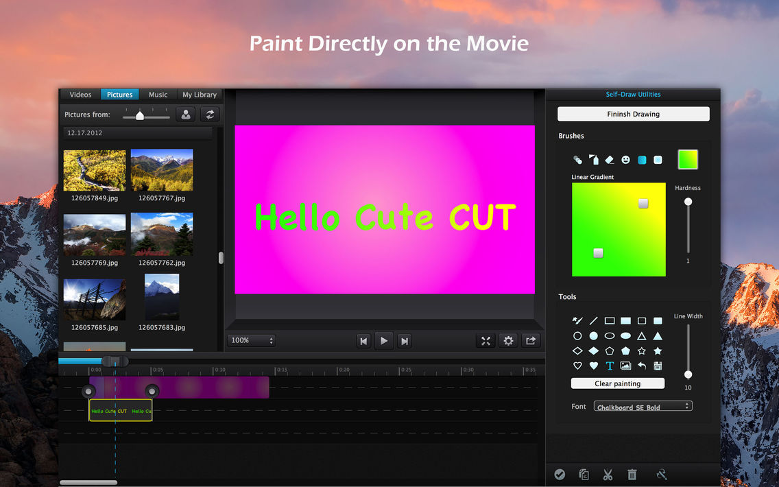 Cute CUT Pro - Full Featured Video Editor App for iPhone - Free