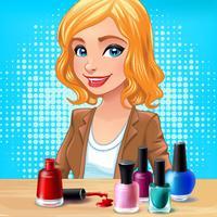 DIY Princess Nail Salon