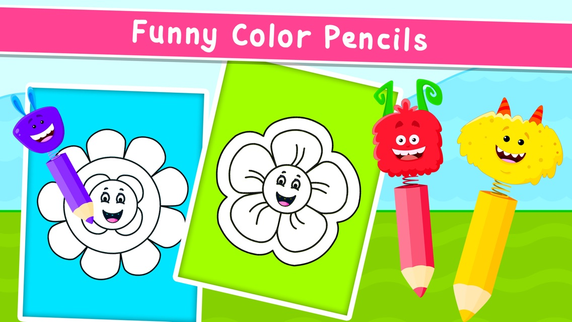 Kidlo Coloring Games for Kids App for iPhone - Free Download ...