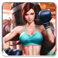 Real 3D Women Boxing
