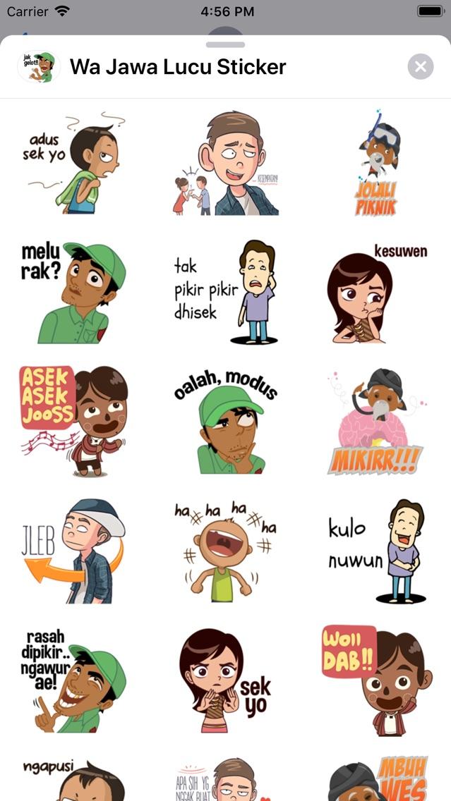Wa Jawa Lucu Sticker App For Iphone Free Download Wa Jawa
