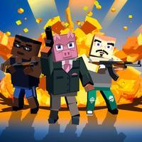 Blocky Shooter: Mafia War Full