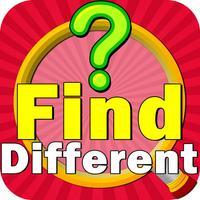 Find the Differences : Spot the Differences - 6 Different