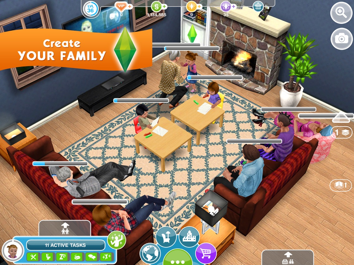 Sims Freeplay Second Floor