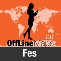 Fes Offline Map and Travel Trip Guide