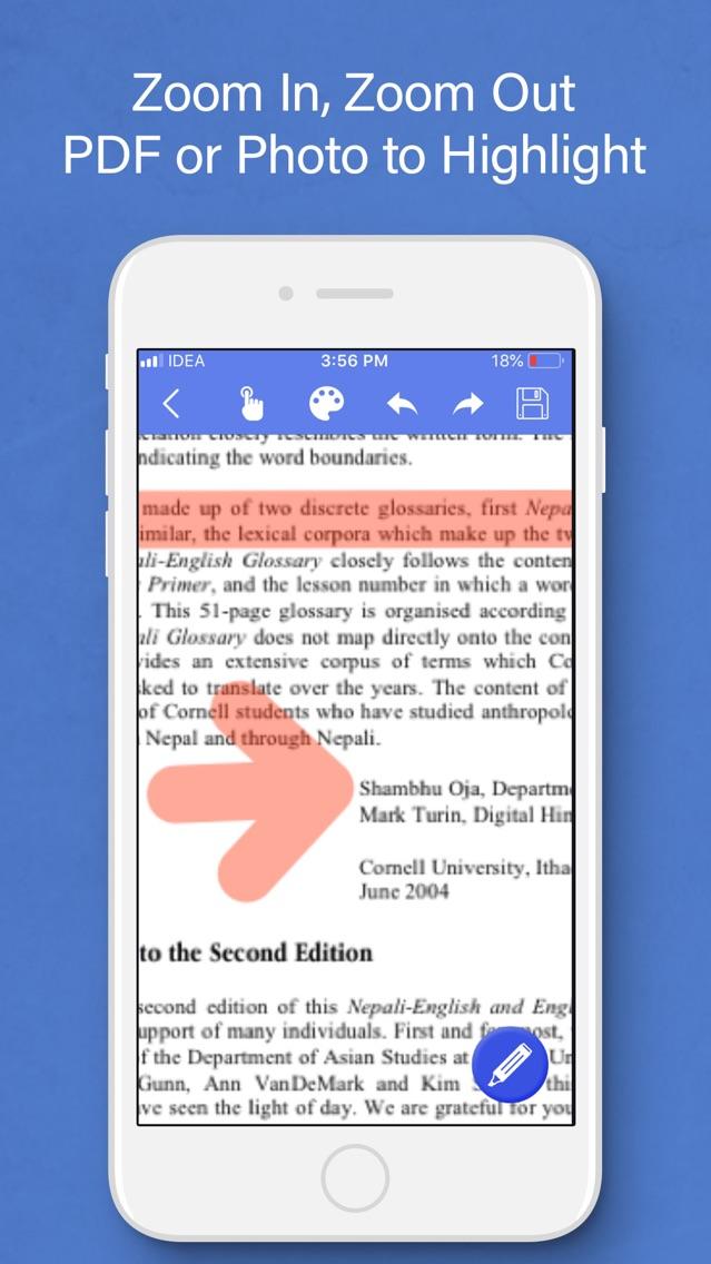 PDF Highlighter : PDF & Photos App for iPhone - Free