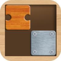 Slide the Blocks : Wood Jigsaw