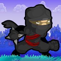 Cartoon little war Game - Chop chop kungfu gunner master.