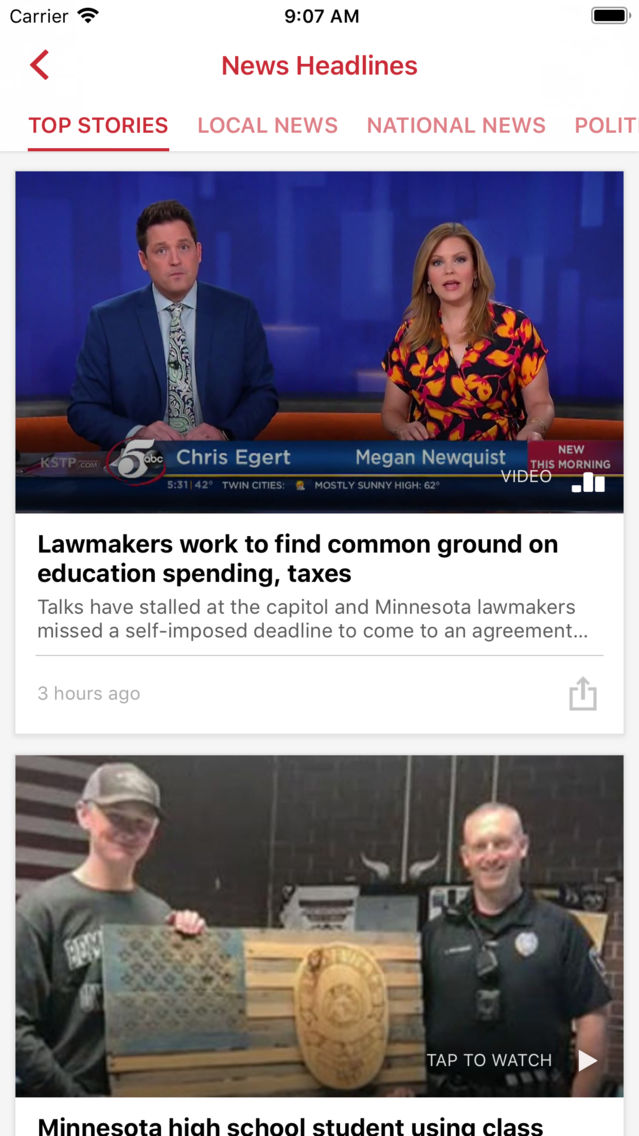 KSTP Mpls-St  Paul App for iPhone - Free Download KSTP Mpls