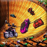 Well Of Death Racing stunts 3D