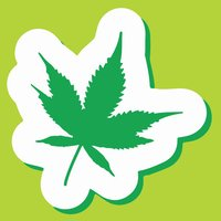 Marijuana Weed Emoji Sticker Pack