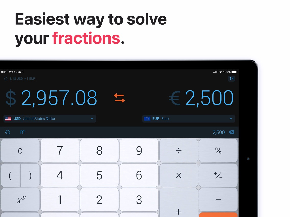 The Calculator  App for iPhone - Free Download The