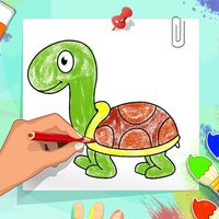 Coloring & Learning Animals