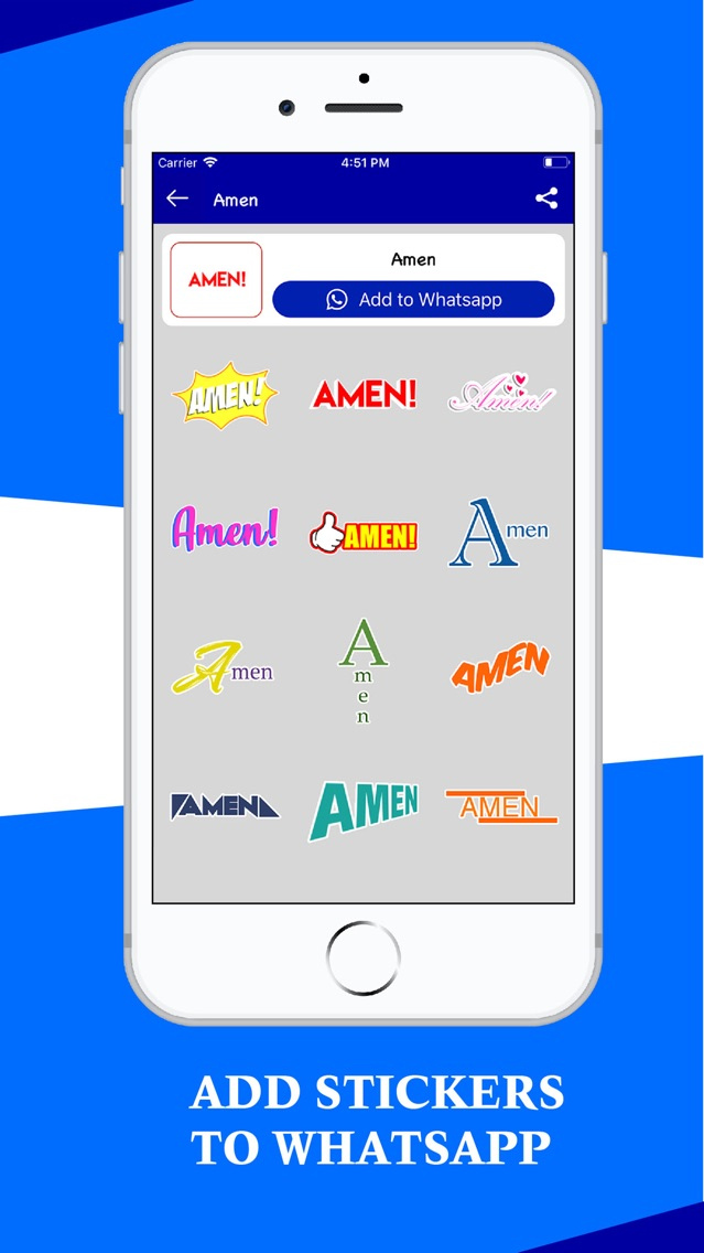 Christian Wastickerapp App for iPhone - Free Download
