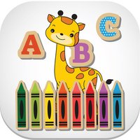 ABC Vocabulary Coloring Book for Kids