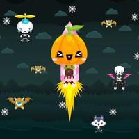 Rocket Pumpkin Sprite