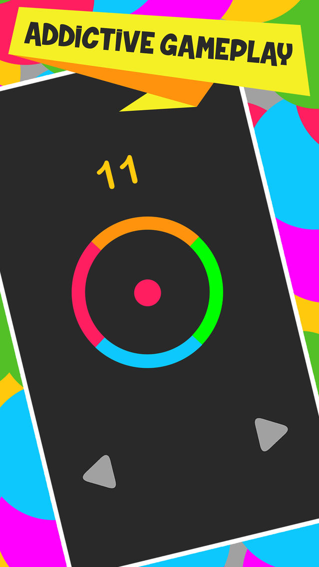 Color Circle with Spin to Win Puzzle App for iPhone - Free Download