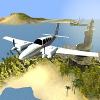 Airport Plane Flight Simulation Game