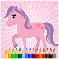 Pony Colouring and Painting Book Full