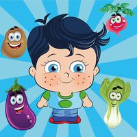 Little Genius Matching Game - Vegetables - Educational and Fun Game for Kids