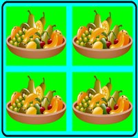 matching pictures fruit season for kids